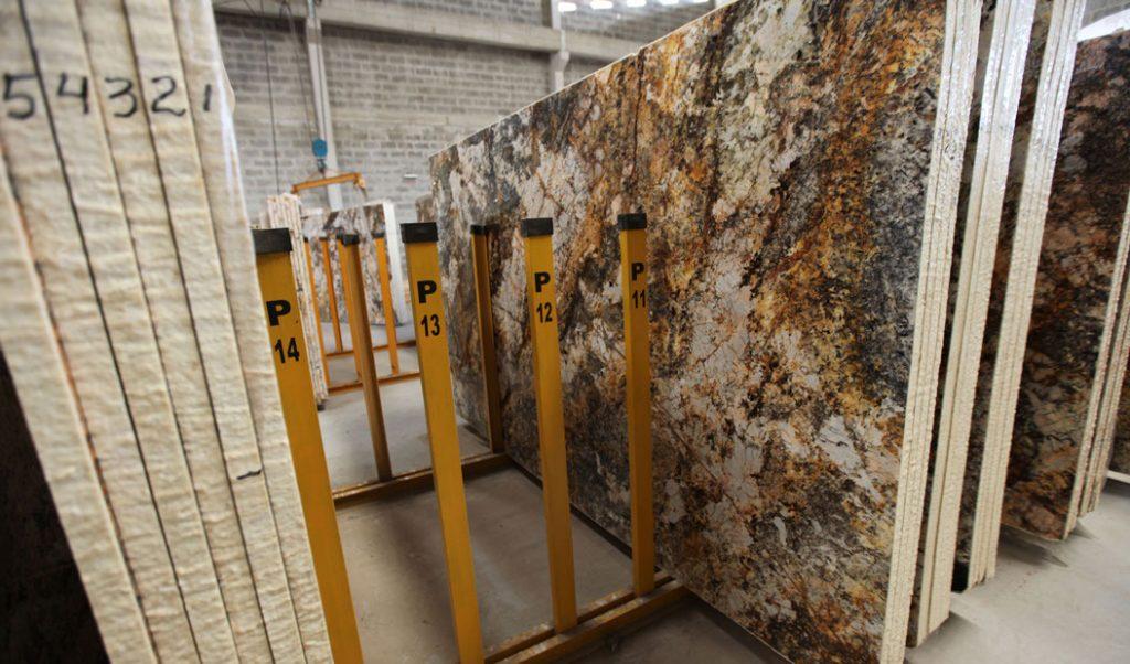 stacks of granite