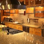 speckled kitchen counters