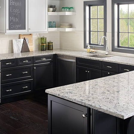 salt quartz kitchen counters